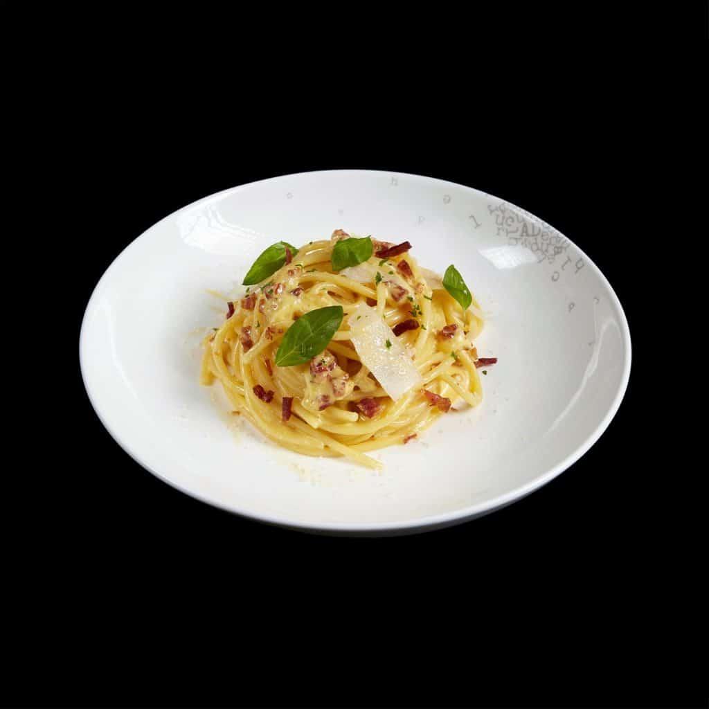 P01 - Mỳ Spaghetti sốt kem trứng (Copy)
