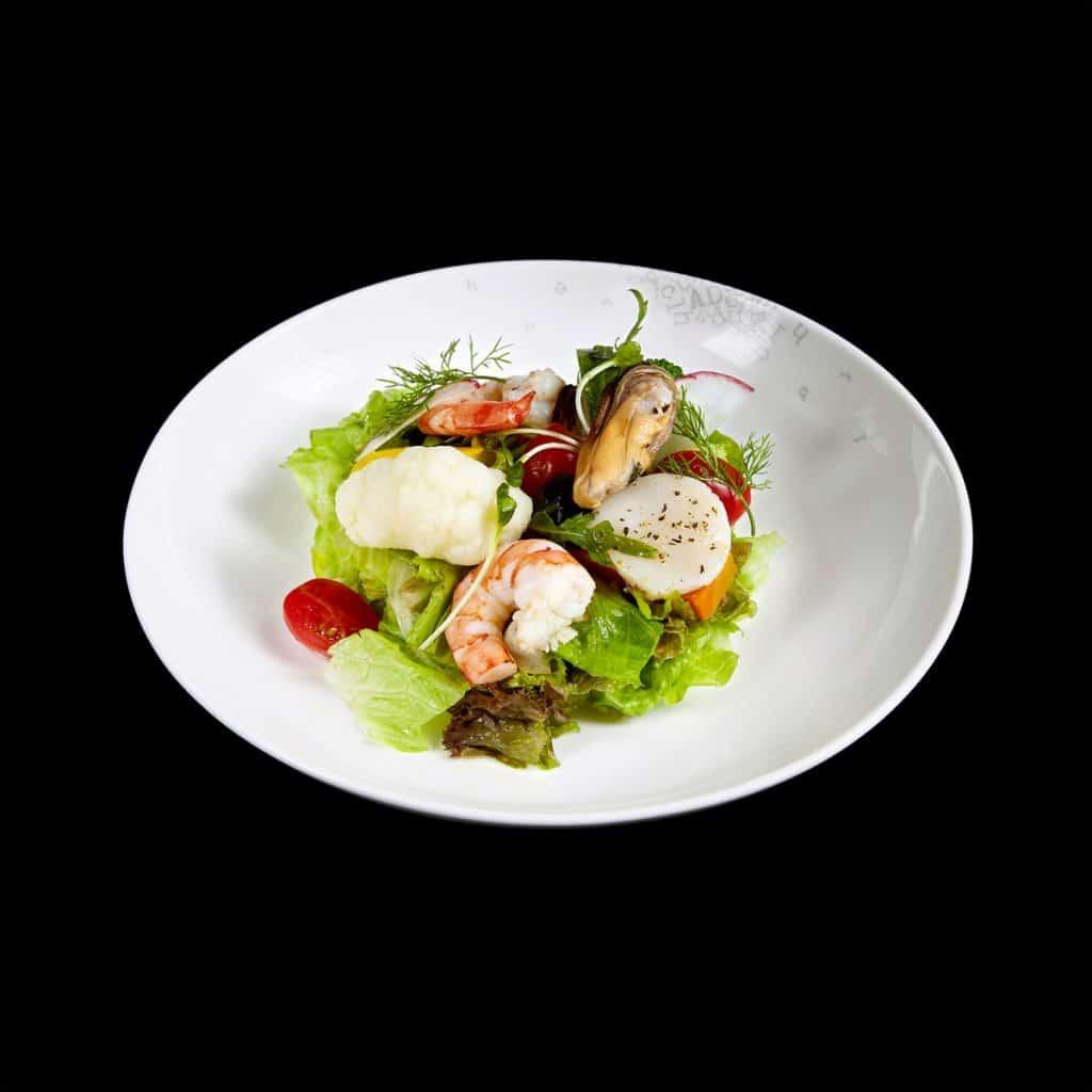 S03 - Salad rau xanh với hải sản (Copy)